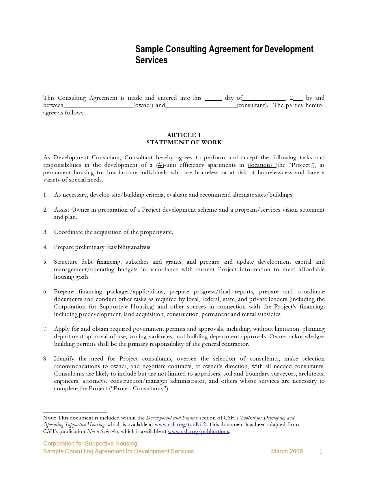 Free consulting contract template 29