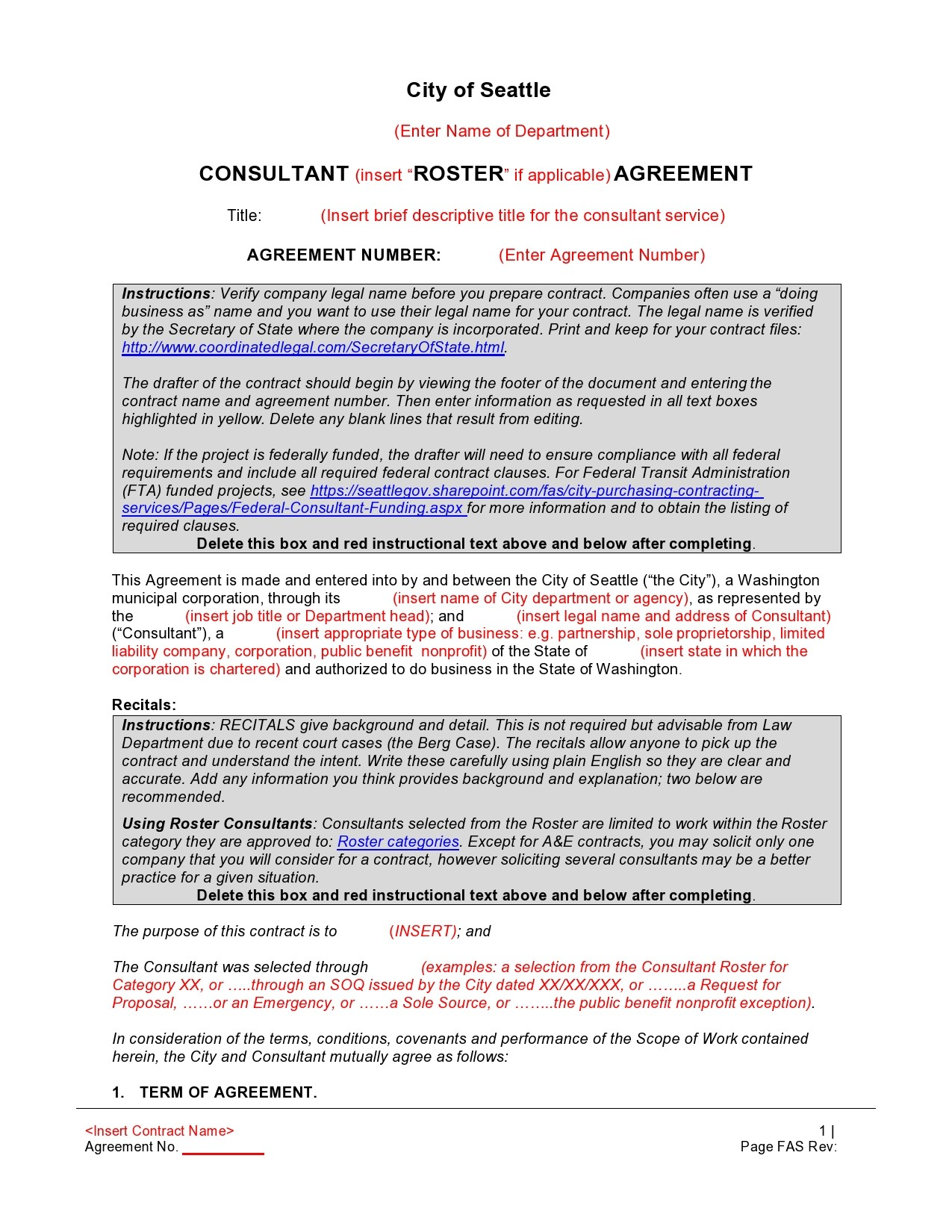 Free consulting contract template 47