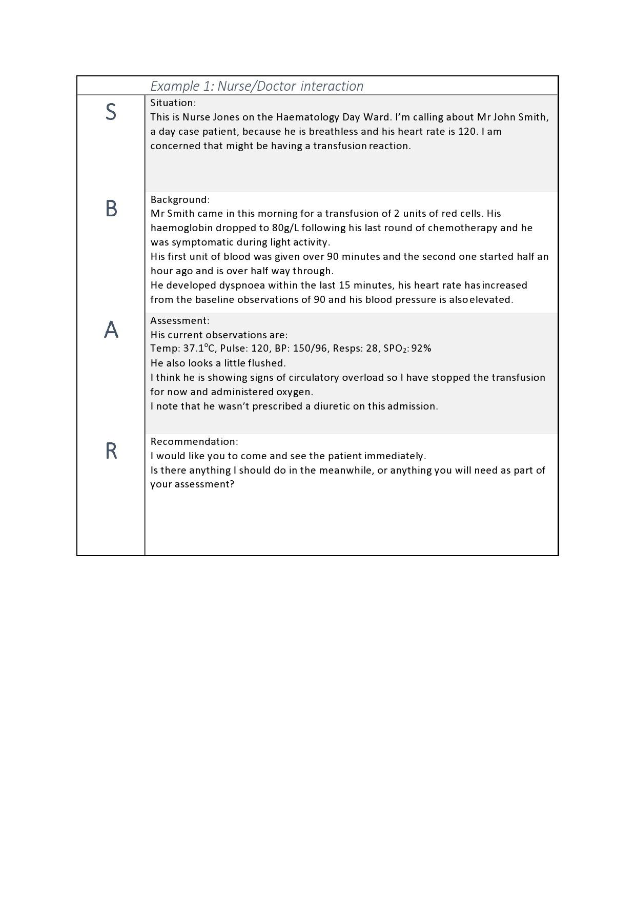 Free sbar template 31