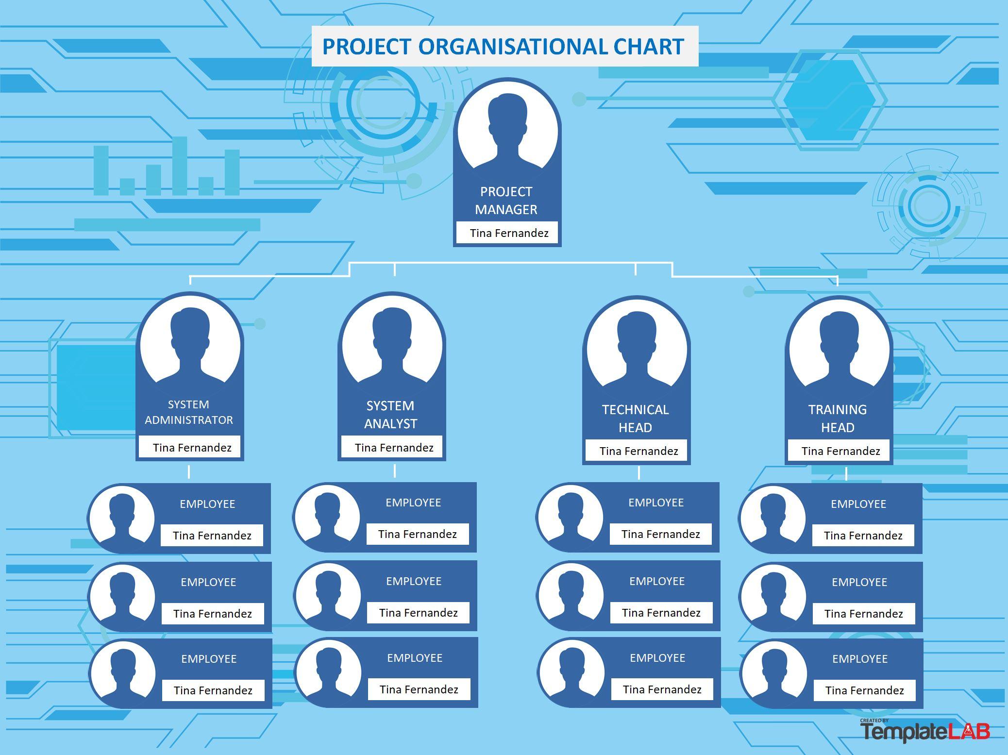 Free Project Organizational Chart