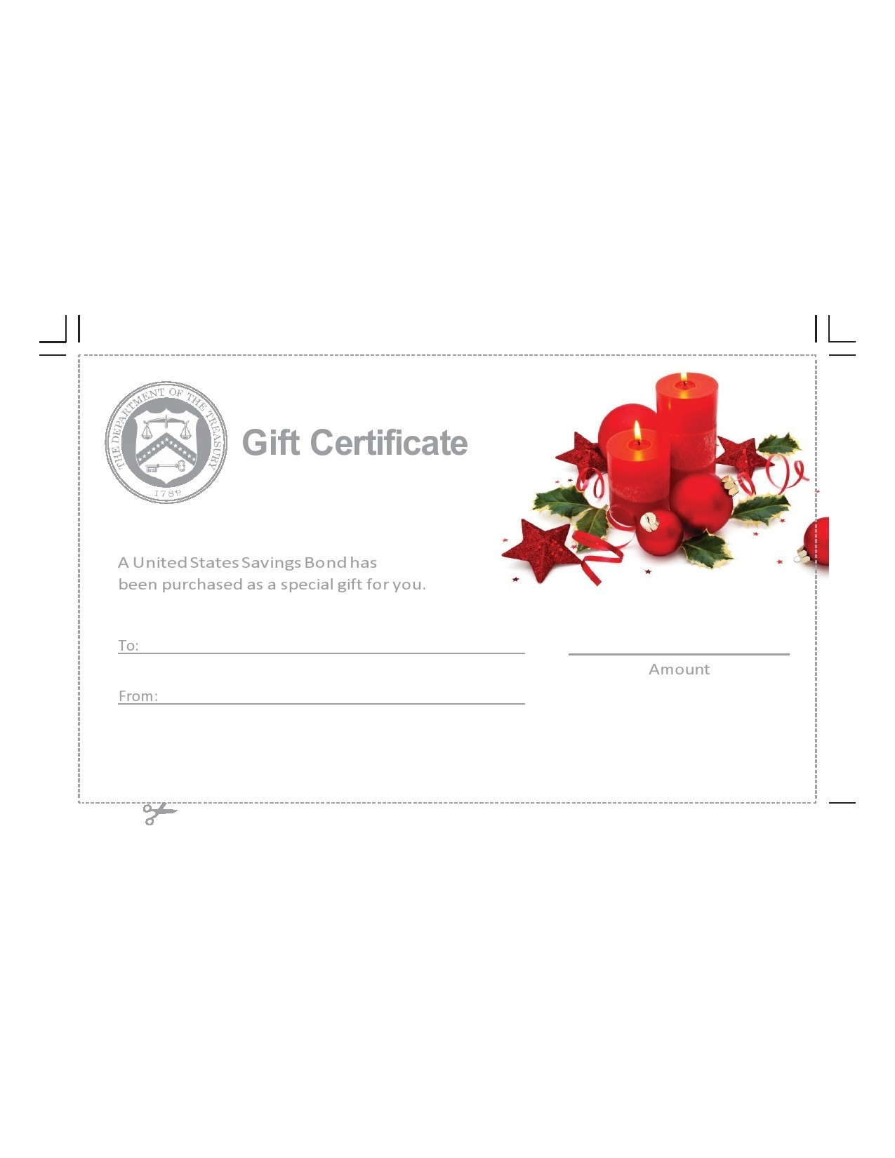 Free christmas gift certificate template 25