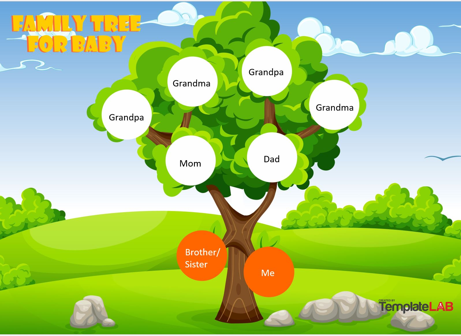 Free Baby Family Tree Template