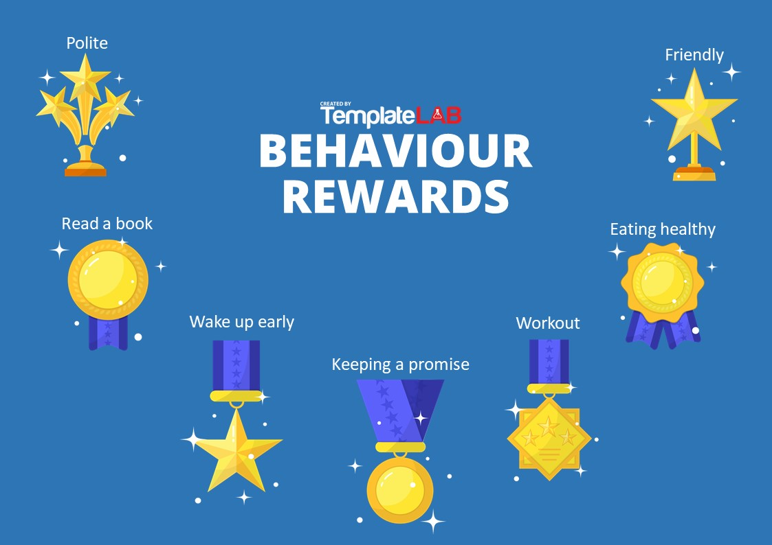 Free Behaviour Rewards Chart