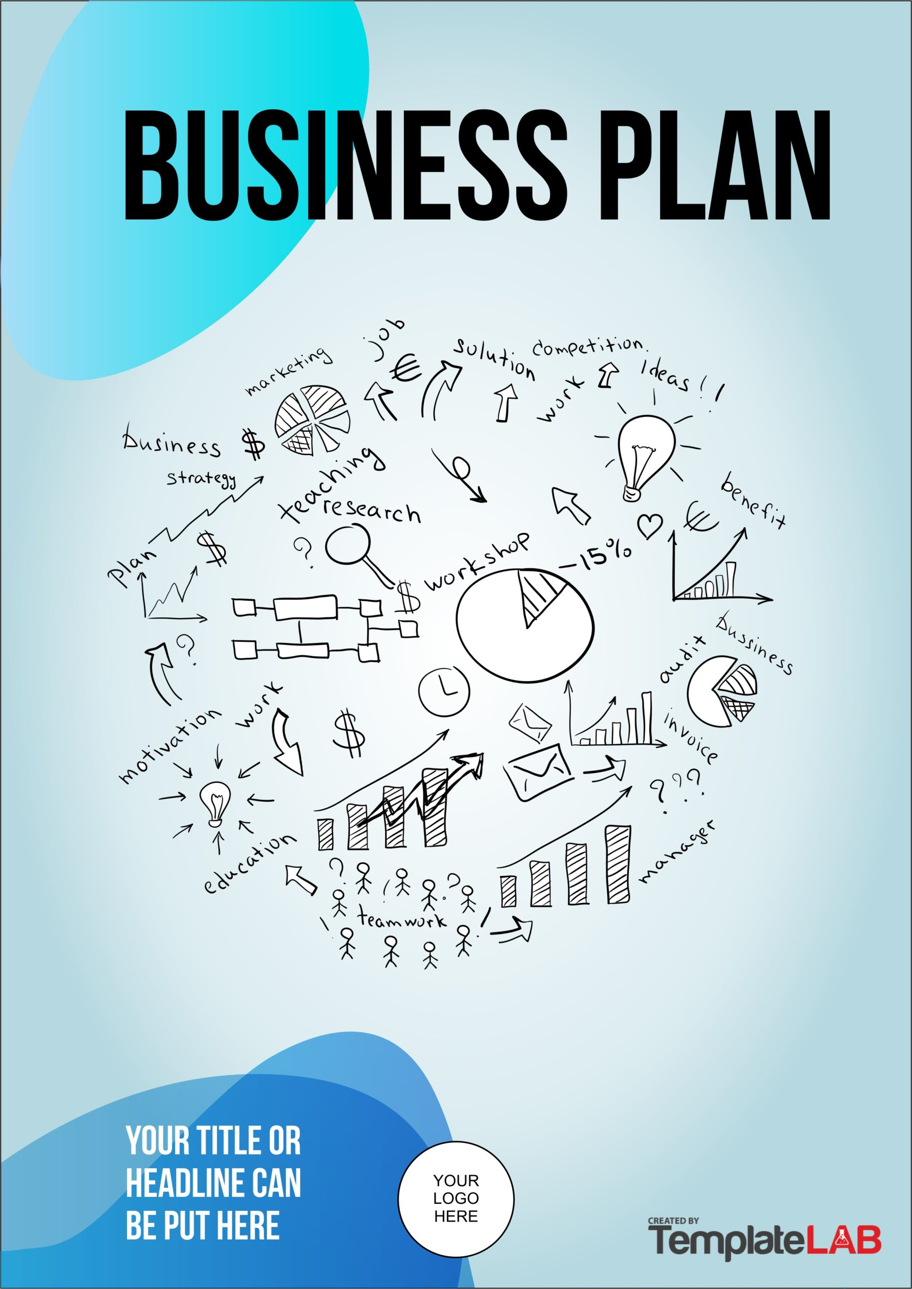 Free Business Plan Cover Page Template