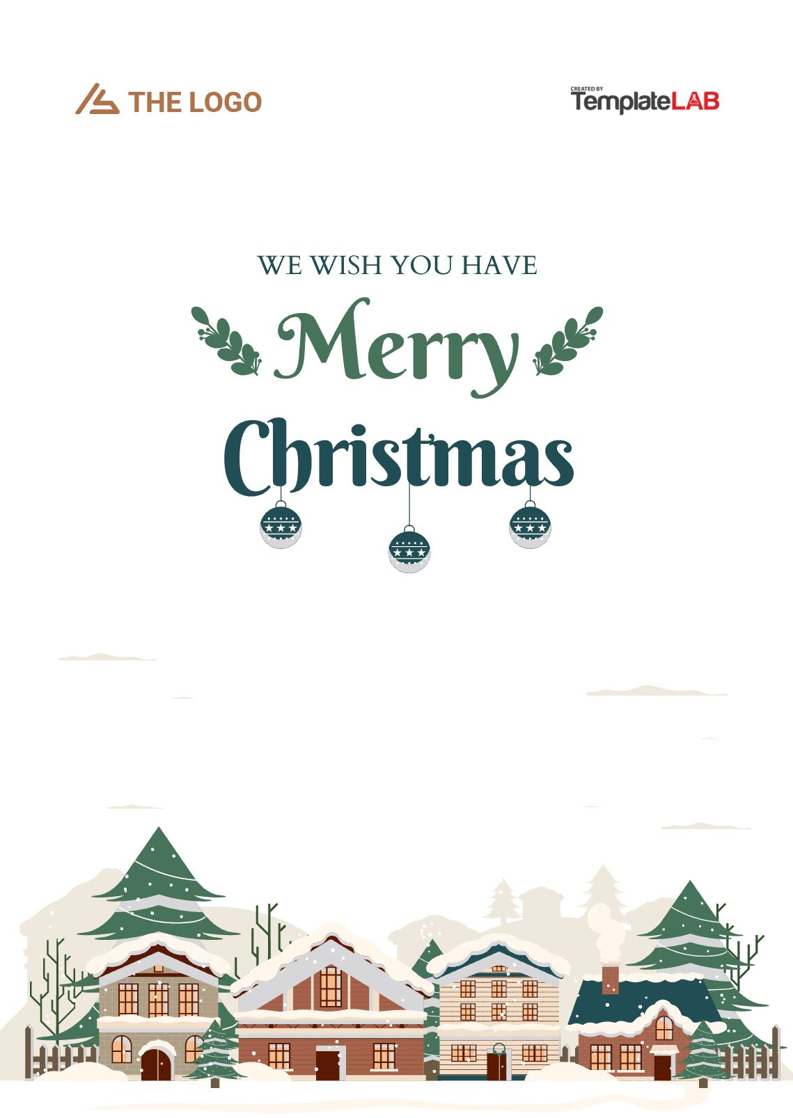 Free Christmas Cover Page
