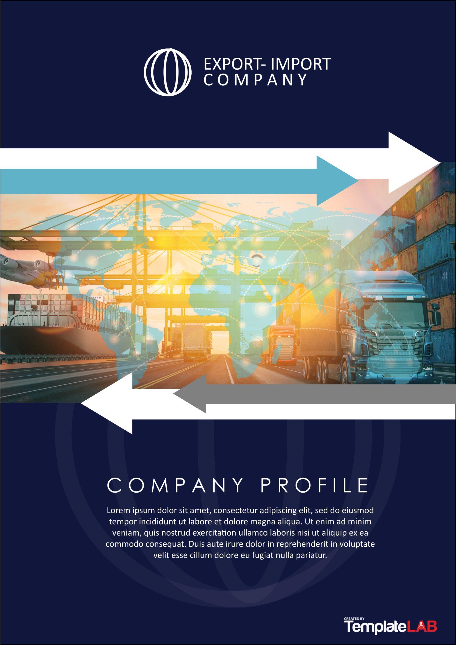 Free Import Export Company Profile