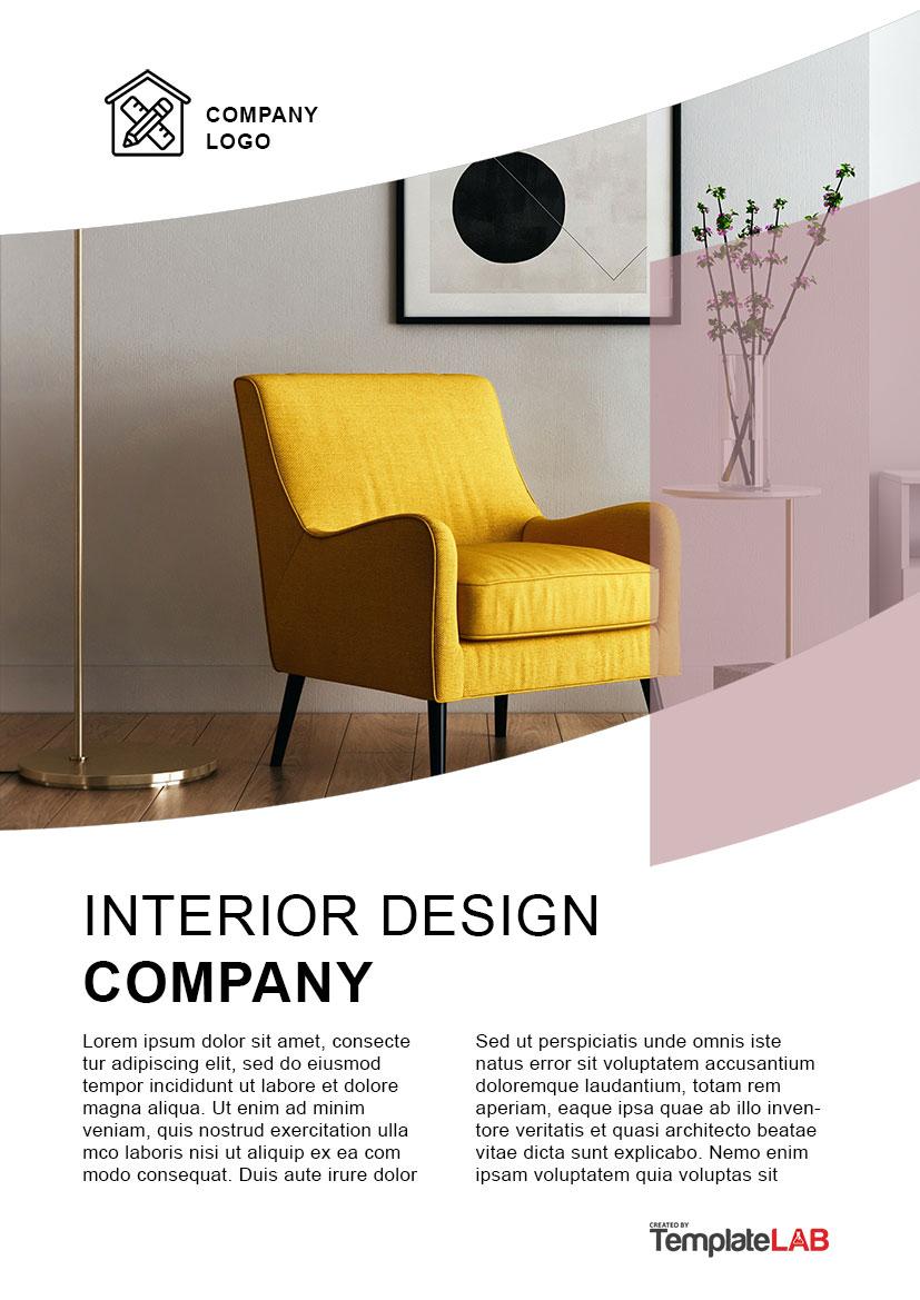 Free Interior Design Company Profile
