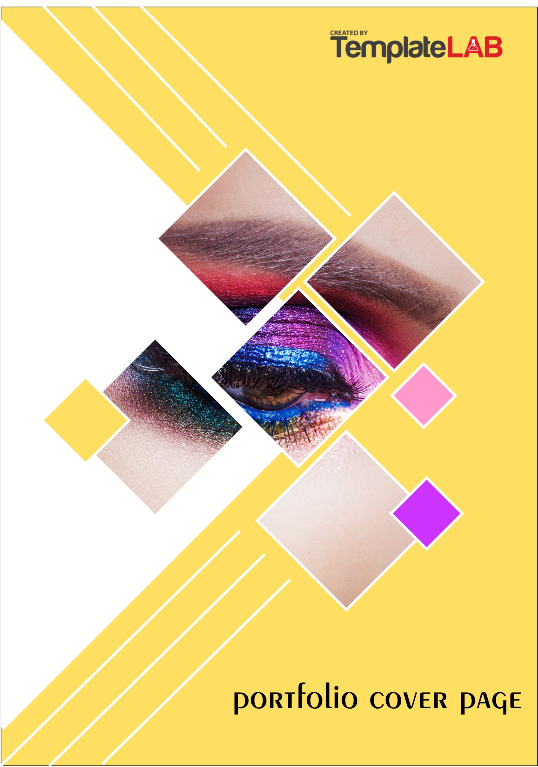 Free Portfolio Cover Page Template
