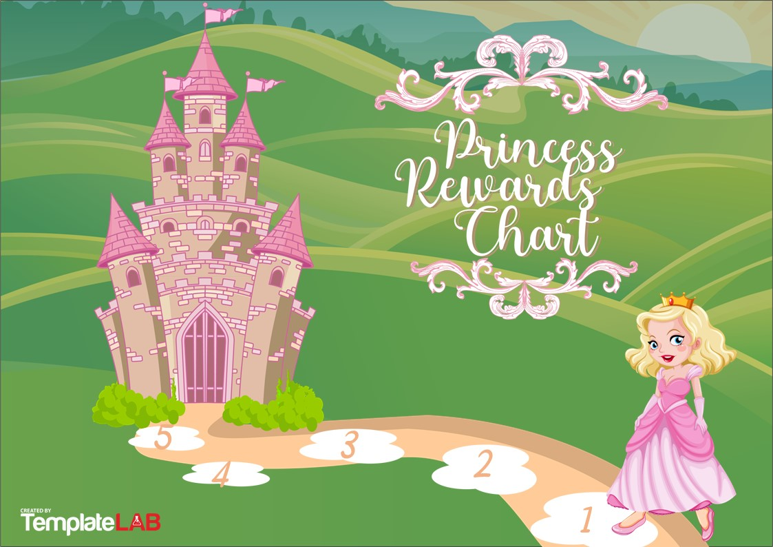 Free Princess Rewards Chart
