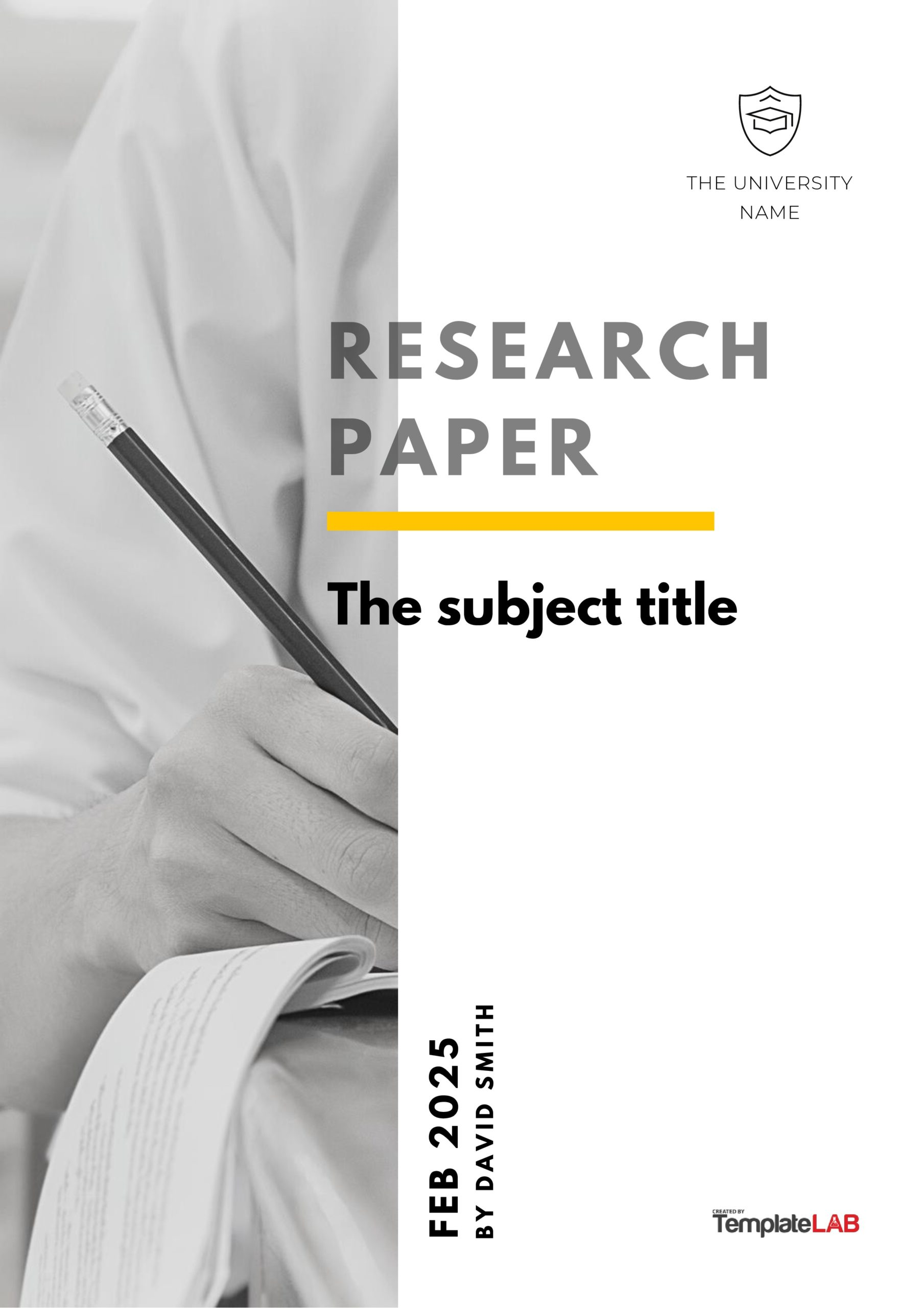 Free Research Paper Cover Page