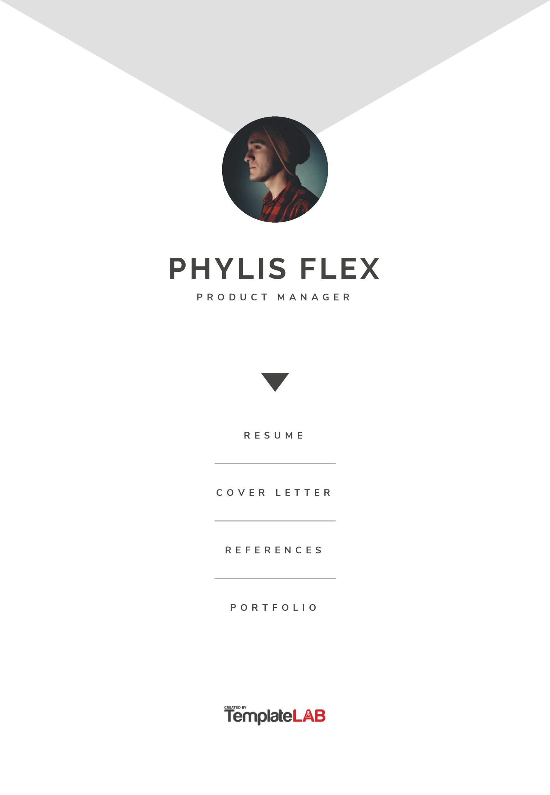 Free Resume Cover Page Templage