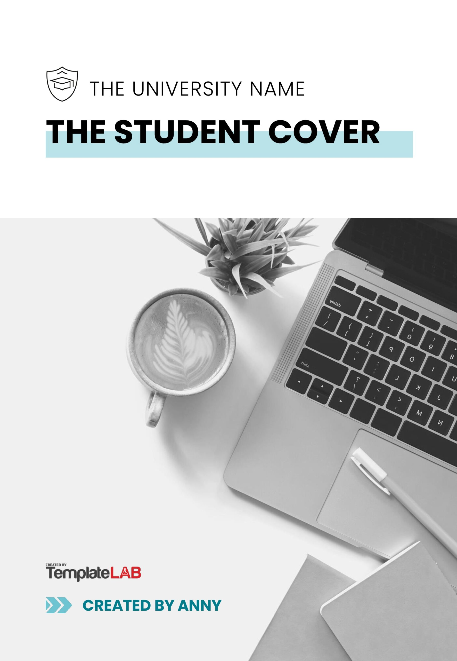 Free School Cover Page Template