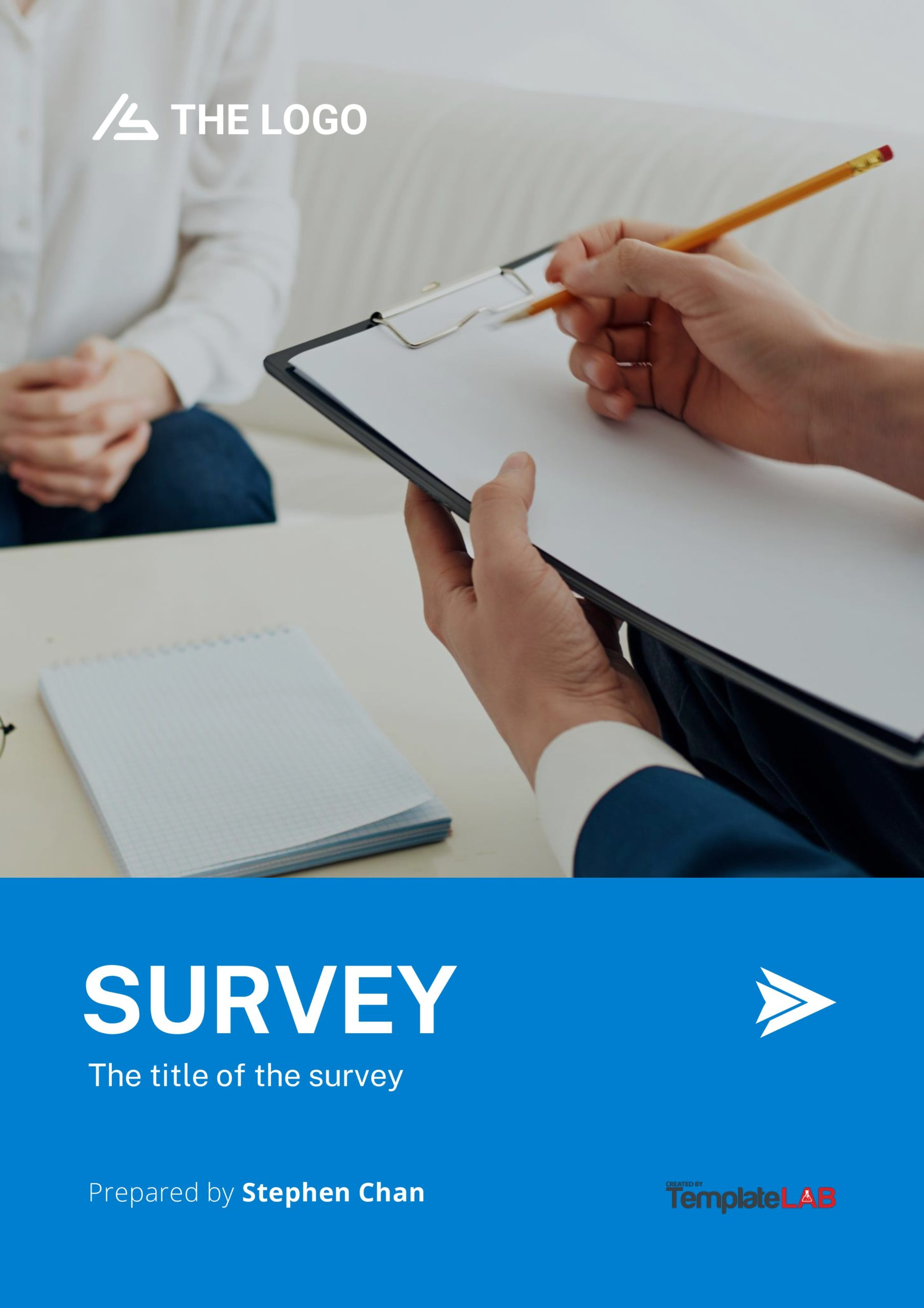 Free Survey Cover Page Template