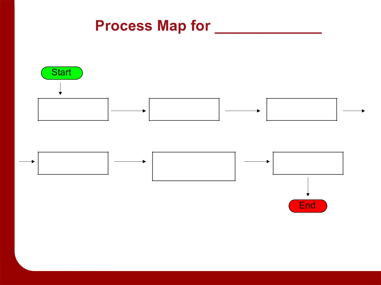 Free process map template 01