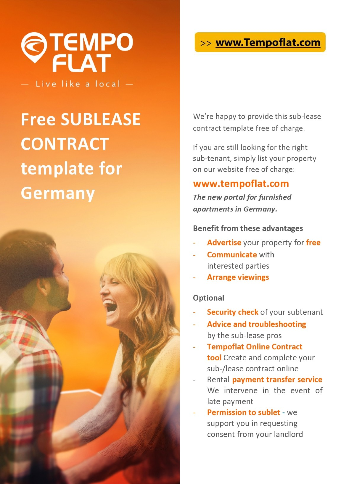 Free residential sublease agreement 27