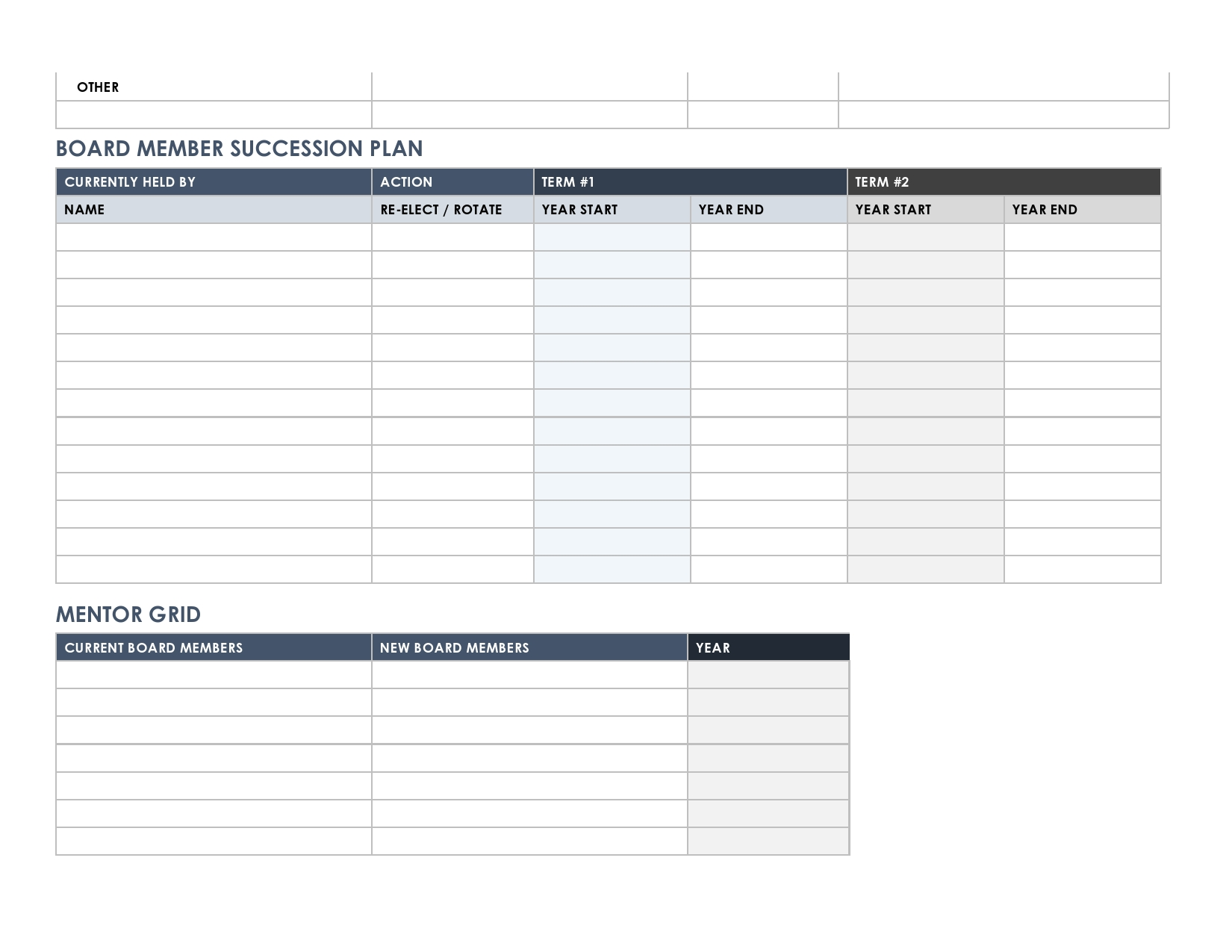 Free succession planning template 04