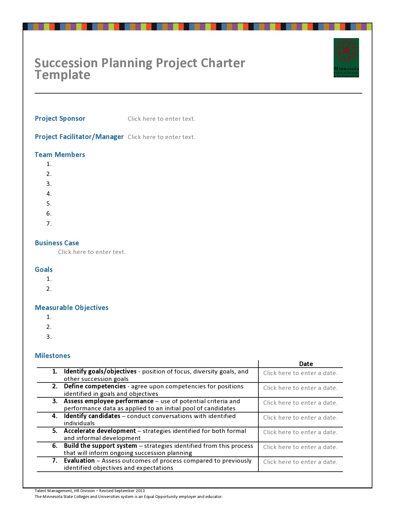 Free succession planning template 12