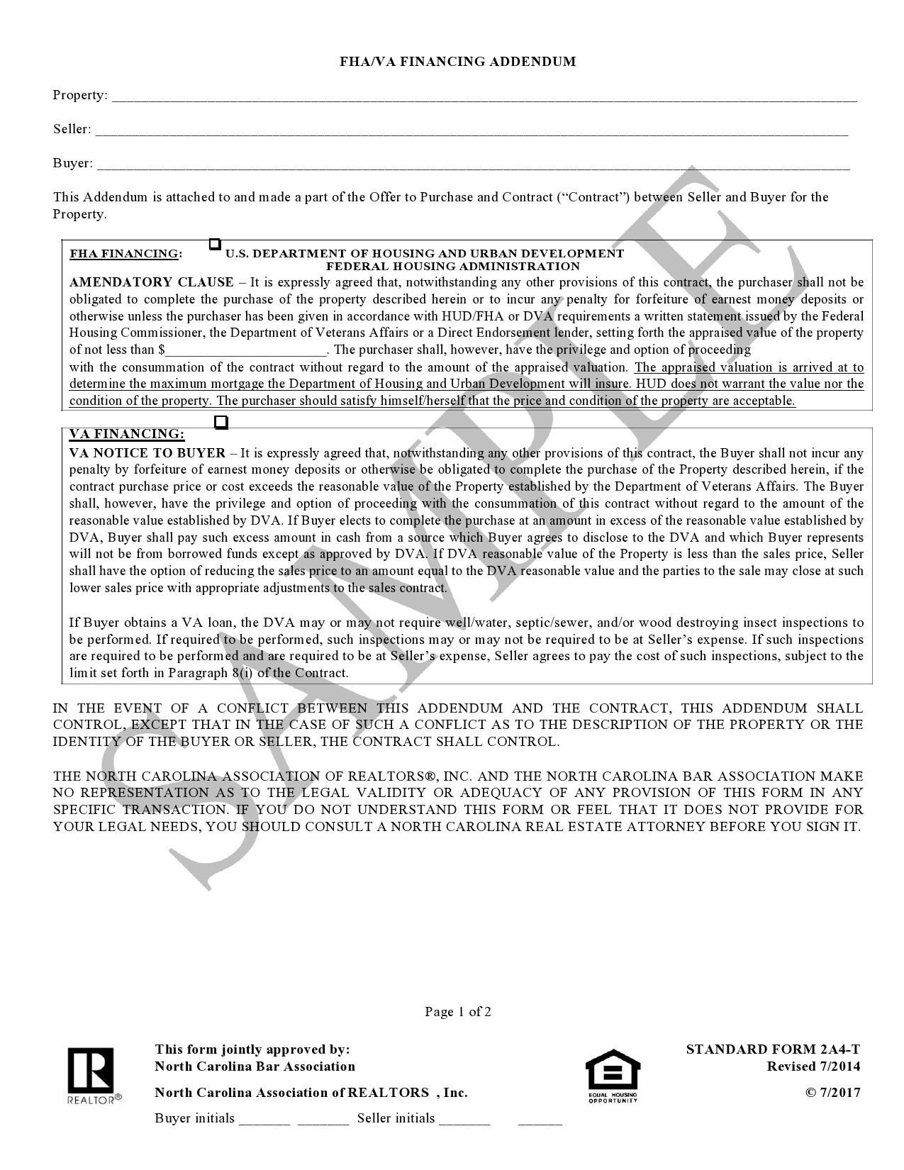 Free third party financing addendum 06