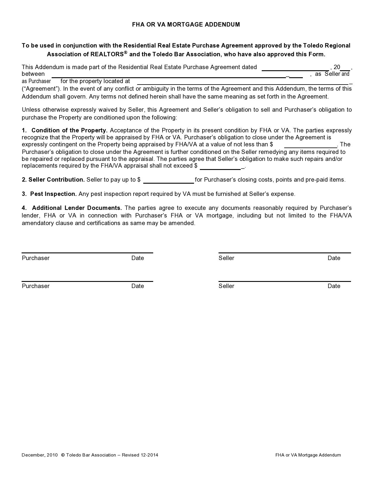 Free third party financing addendum 24