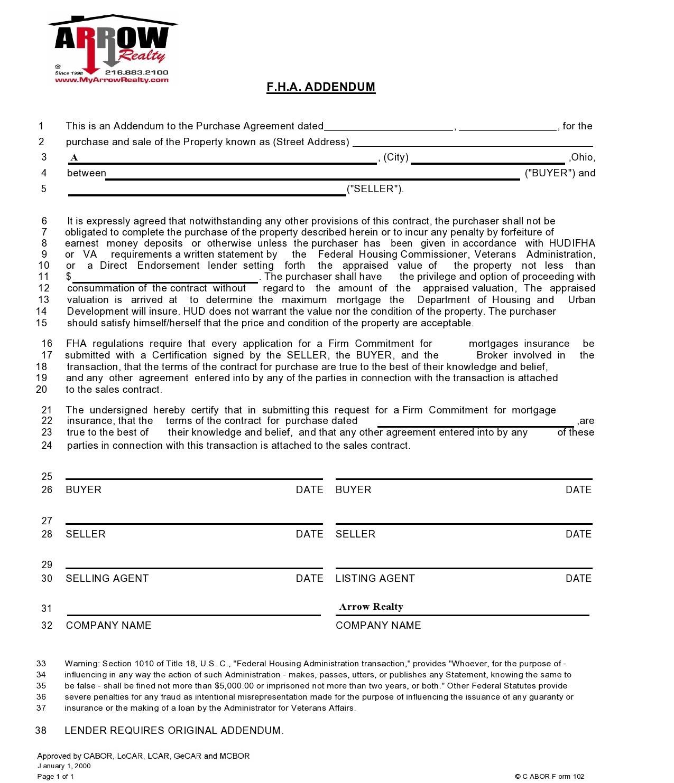 Free third party financing addendum 26