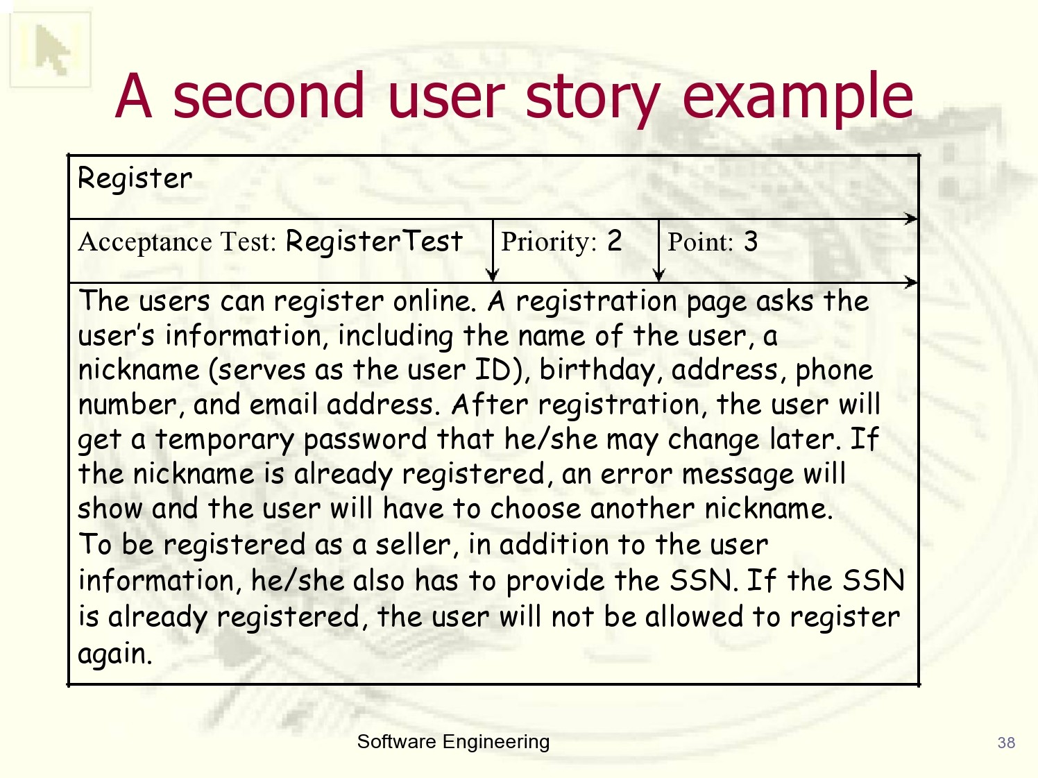 Free user story template 30