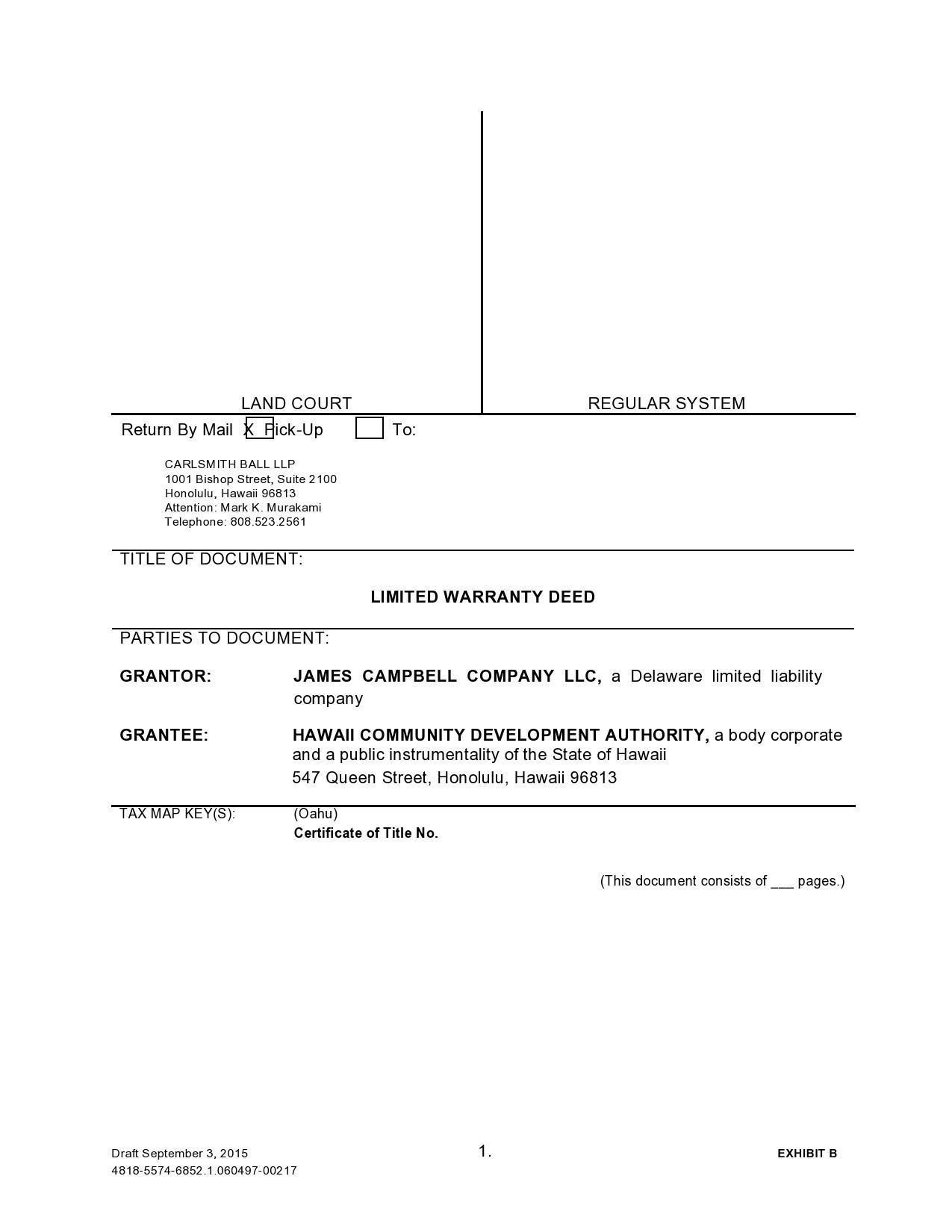 Free warranty deed form 26